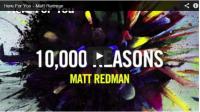 Matt Redman  มาอยู่ที่นี่เพื่อพระองค์