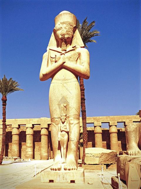 อาโมนเป็นเทพเจ้าแห่งลม ของชาวอียิปต์โบราณ
